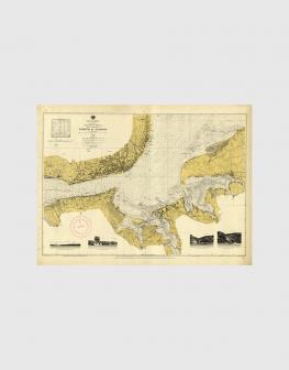 Carta de 1945 – Porto de Lisboa