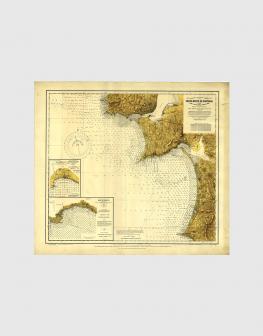Carta de 1928 – Entre o Cabo da Roca e o Cabo de Sines