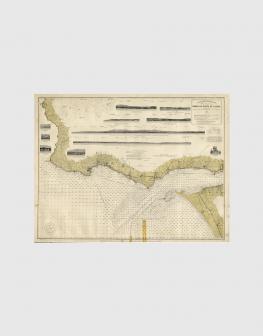 Carta de 1929 – Barra e Porto de Lisboa