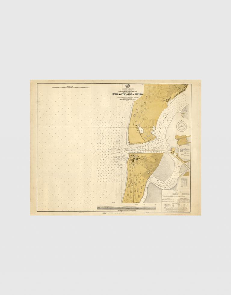 Carta de 1934 – Barra e Foz da Ria de Aveiro