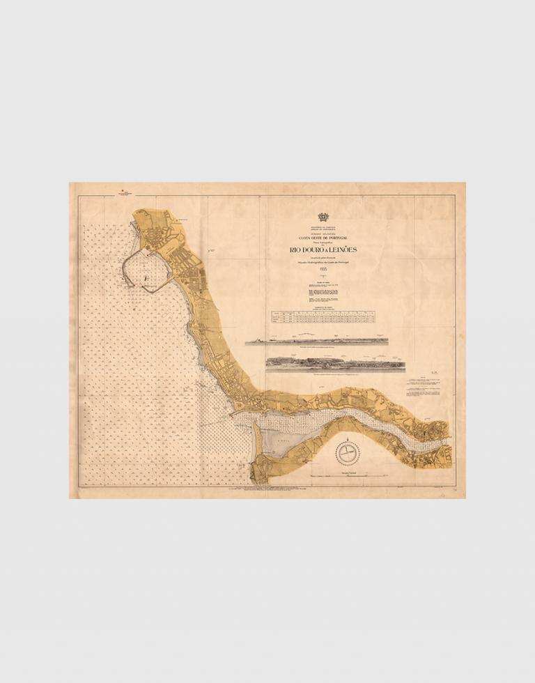Carta de 1935 – Rio Douro a Leixões