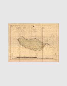 Carta de 1937 – Carta da Ilha da Madeira