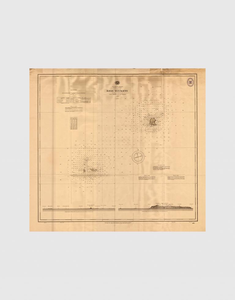 Carta de 1938 – Ilhas Selvagens