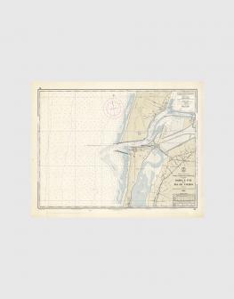 Carta de 1966 – Barra e Foz da Ria de Aveiro