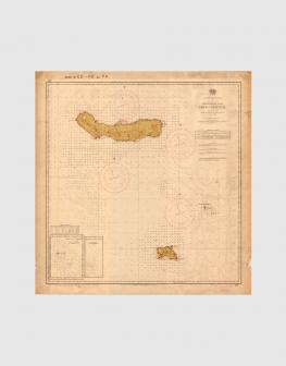 Carta de 1956 – Arquipélago dos Açores – Grupo Oriental