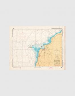 Carta de 1986 – Arquipélago dos Açores – Ilha do Pico, Porto da Madalena