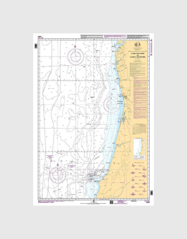 Cabo Sileiro ao Cabo Carvoeiro 23202