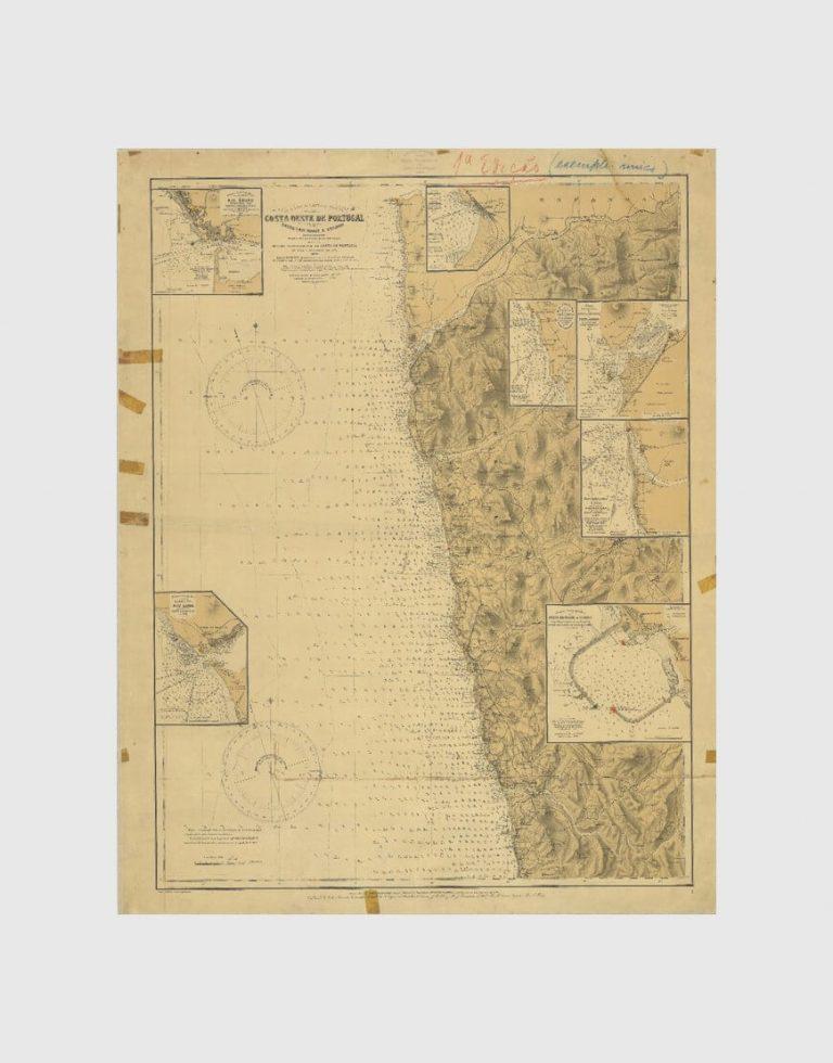 Carta de 1913 – Entre o Rio Minho e Espinho