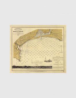 Carta de 1924 – Baía de Lagos
