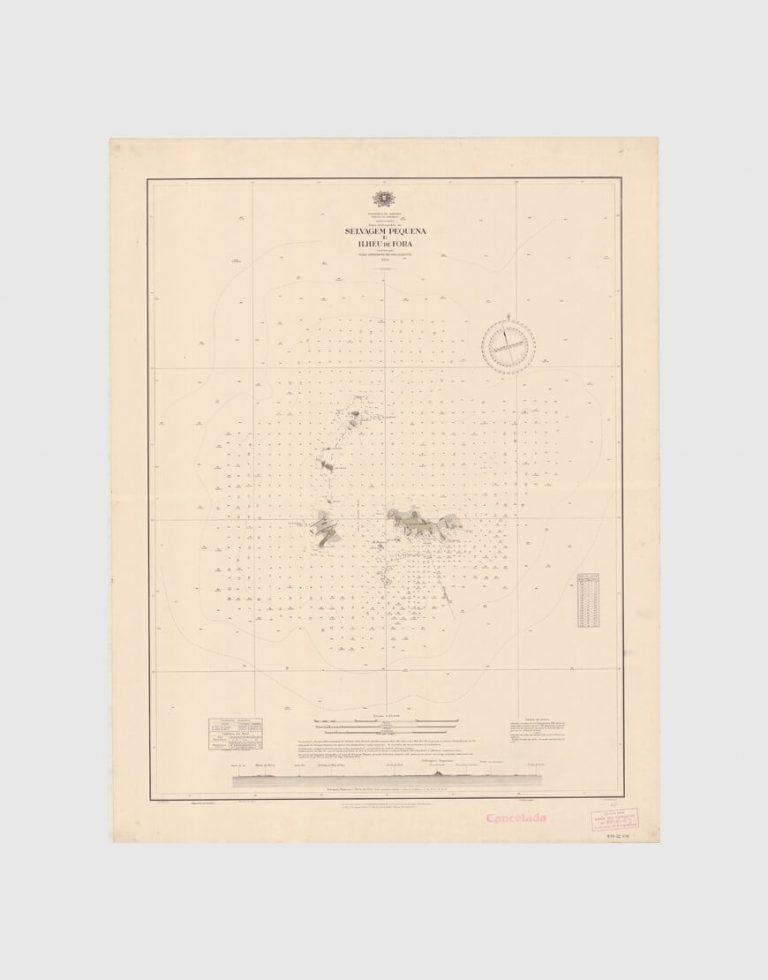 Carta de 1937 – Selvagem Pequena e Ilhéu de Fora