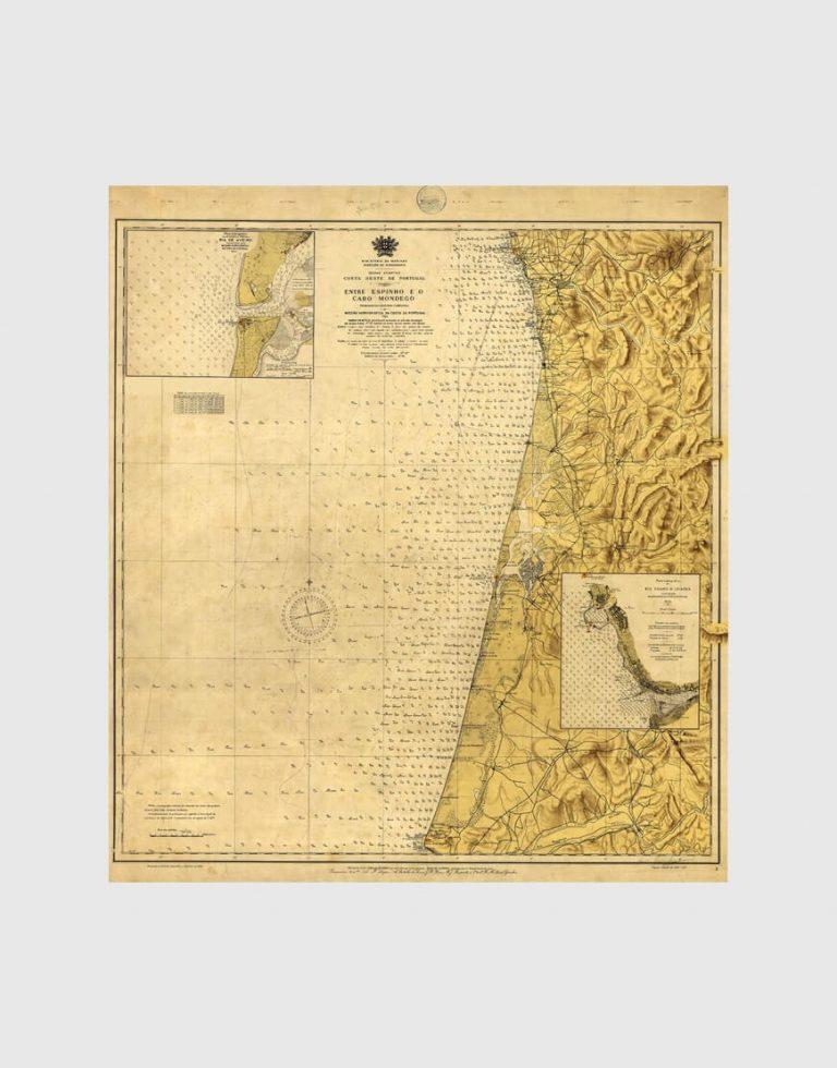 Carta de 1939 – Entre Espinho e Cabo Mondego