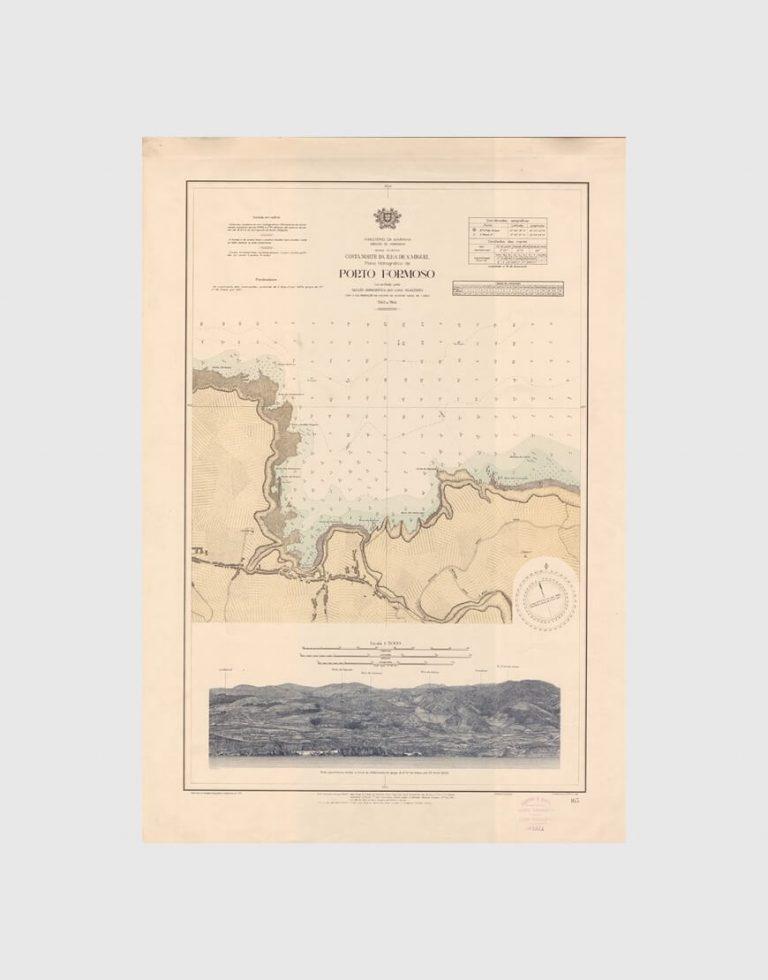 Carta de 1945 – Arquipélago dos Açores – Costa Norte da Ilha de S. Miguel – Porto Formoso