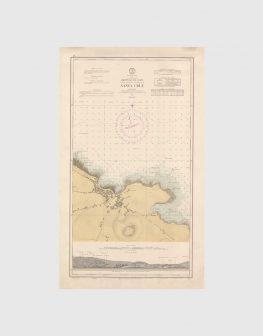 Carta de 1961 – Arquipélago dos Açores – Costa Norte da Ilha Graciosa, Santa Cruz