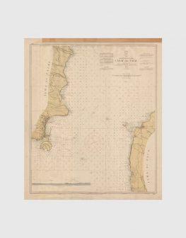 Carta de 1961 – Arquipélago dos Açores – Canal do Faial