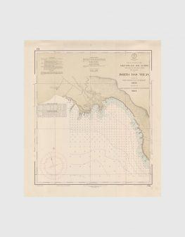 Carta de 1966 – Arquipélago dos Açores – Costa Sul da Ilha de S. Jorge, Porto das Velas