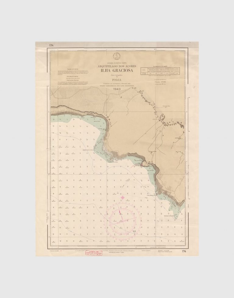 Carta de 1970 – Arquipélago dos Açores – Ilha Graciosa, Folga