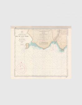 Carta de 1977 – Arquipélago dos Açores – Ilha de Santa Maria, Vila do Porto