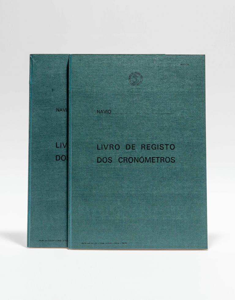 IH-NV-41 – Livro de Registos de Cronómetros
