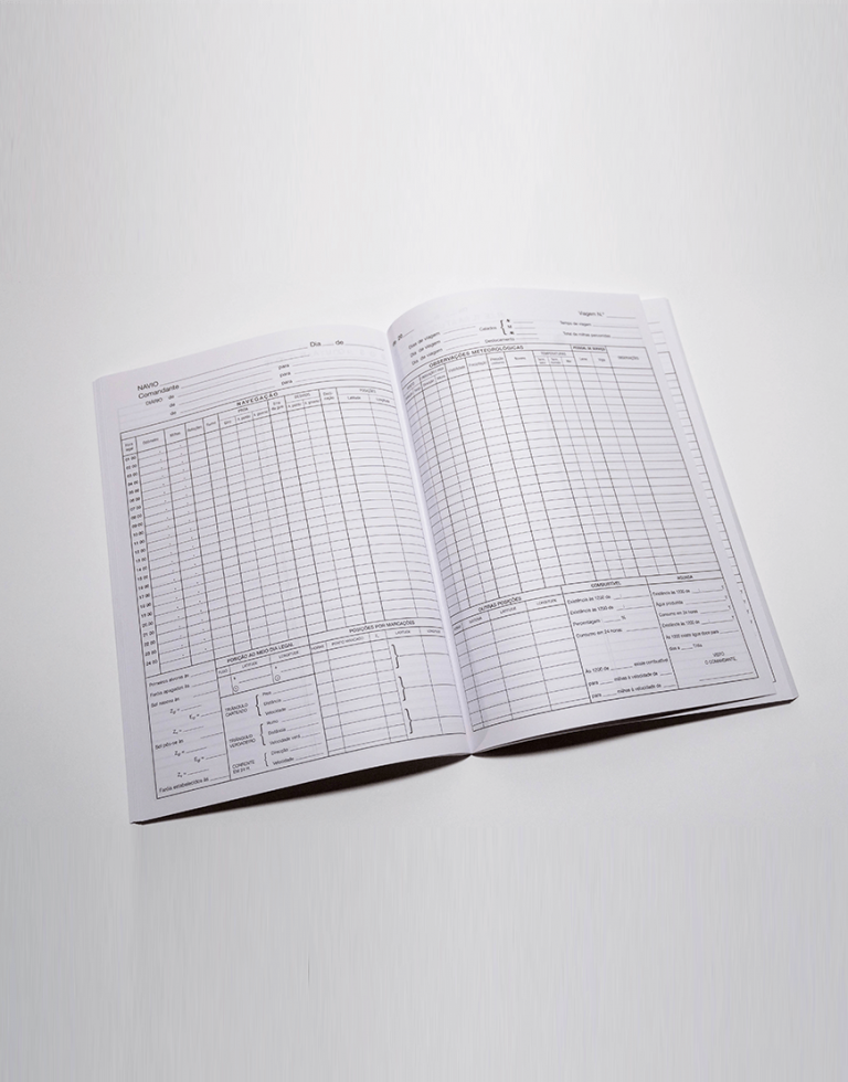 IH-NV-44 – Diário de Navegação (livro c/ 100 folhas)