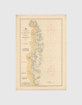 Carta de 1957 – Costa do Rovuma ao Cabo Pequeve