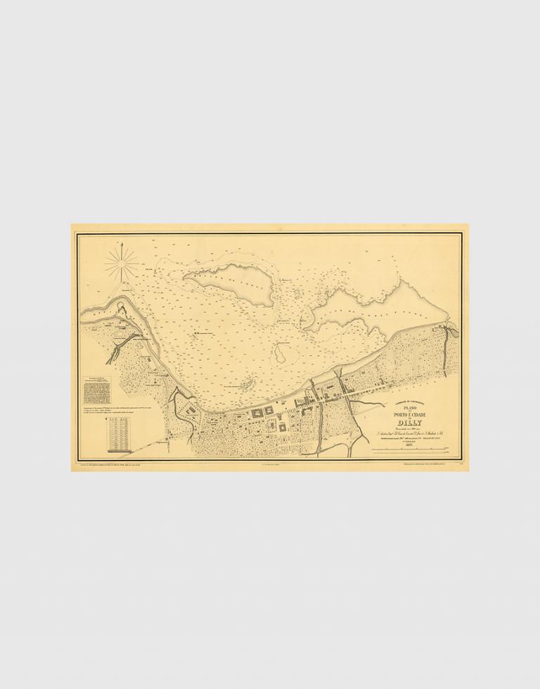 Carta de 1895 – Porto e Cidade de Dili (2ª Edição)