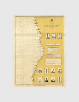 Carta de 1953 – Costa de Angola desde a Foz de Massabi à Foz do Cunene