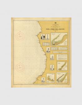 Carta de 1949 – Costa desde o Porto do Ambriz à Baía dos Elefantes