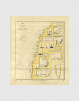 Carta de 1944 – Costa desde Lobito ao Rio Cunene