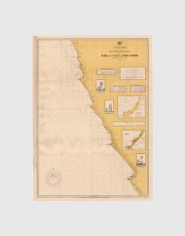 Carta de 1946 – Barra do Cuanza ao Porto Amboim