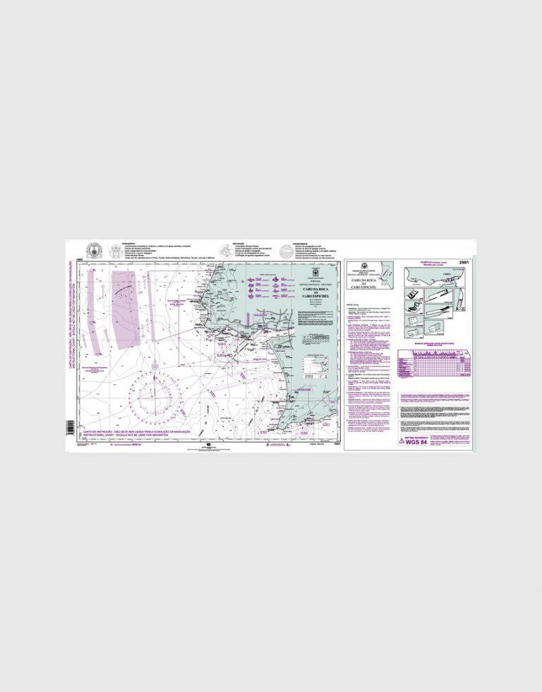 Carta de Instrução 25I01 - Cabo da Roca ao Cabo Espichel